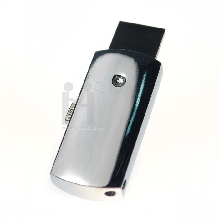 Slim Flash Drive แฟลชไดร์ฟโลหะชิพบางเล็ก