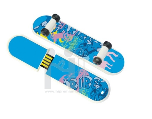 Skateboard USB stick <br>แฟลชไดร์ฟสเก็ตบอร์ด