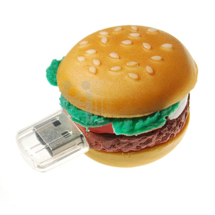 USB Flash Drive แฟลชไดร์ฟแฮมเบอร์เกอร์