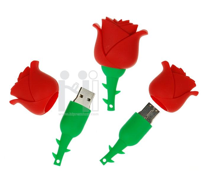 แฟลชไดร์ฟรูปดอกทิวลิป แฟลชไดร์ฟรูปดอกไม้