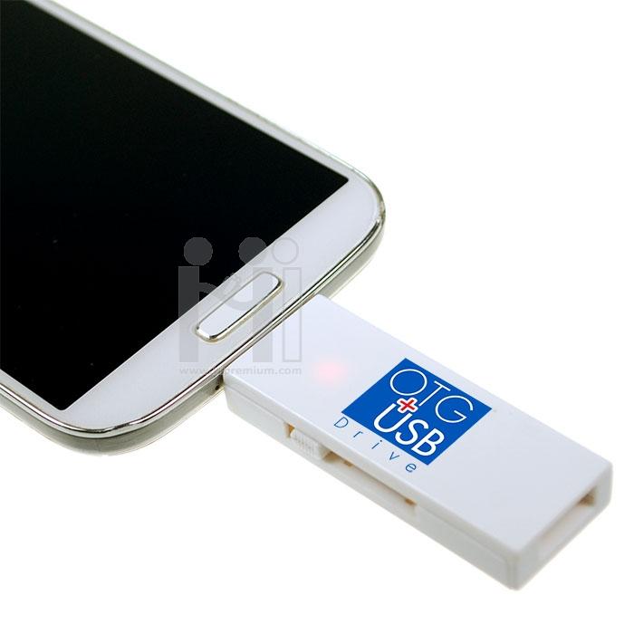 แฟลชไดร์ฟ OTG เสียบมือถือได้<br>Smart Phone USB Flash Drive