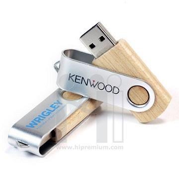 Wooden USB Flash Drive แฟลชไดร์ฟไม้จริง แฟลชไดรฟ์ไม้พรีเมี่ยม