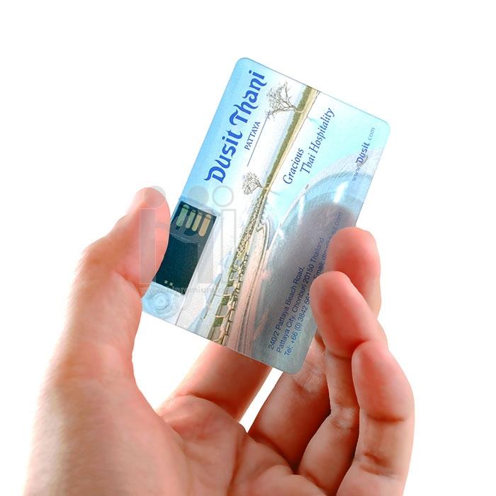 Credit Card USB Flash Drive แฟลชไดร์ฟการ์ดใสสี่เหลี่ยมโปร่งแสงเครดิตการ์ดแฟลชไดร์ฟสี่เหลี่ยมใส