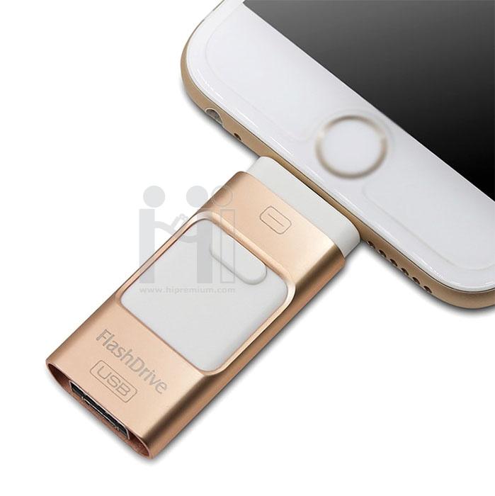 OTG i-Flash Drive<br>แฟลชไดร์ฟเสียบมือถือไอโฟน,ไอแพด,สมาร์ทโฟน