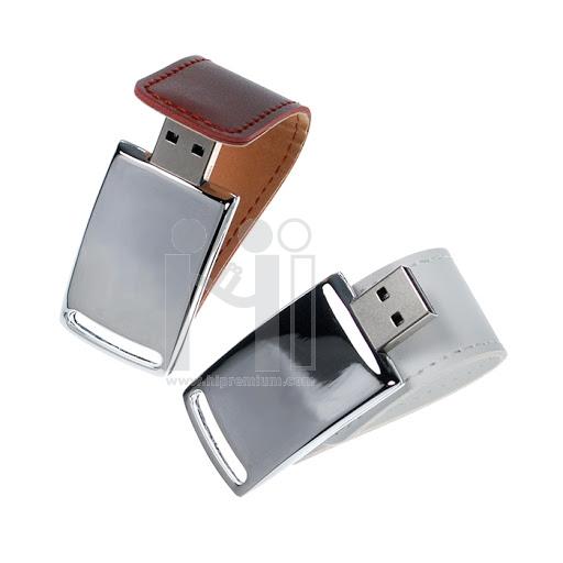 Magnet Flash Drive แฟลชไดร์ฟแม่เหล็ก แฟลชไดร์ฟโลหะสลับหนัง