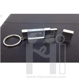 3D crystal USB flash drive  แฟลชไดร์ฟแก้วคริสตัลใส3มิติ แฟลชไดร์ฟเรืองแสง