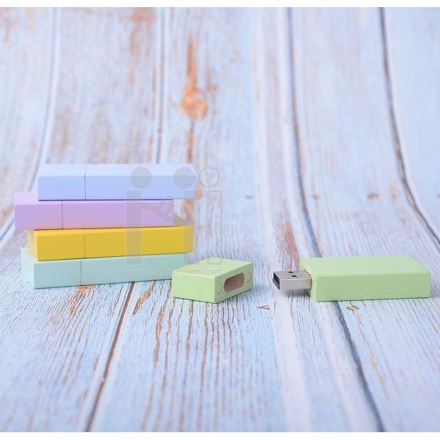 Wooden USB Flash Drive แฟลชไดร์ฟไม้จริง