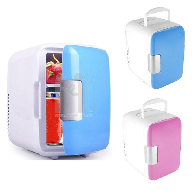 ตู้เย็นจิ๋ว USB ตู้เย็นและอุ่นในตัว