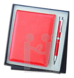 ชุดกล่องของขวัญกิ๊ฟเซ็ท Gift Set<br>ปากกา&สมุดโน้ต<br>สั่งขั้นต่ำ 500 ชุด