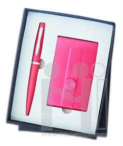 ชุดกล่องของขวัญกิ๊ฟเซ็ท Gift Set<br>ปากกา&กล่องนามบัตร<br>สั่งขั้นต่ำ 500 ชุด