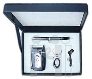ชุดกล่องของขวัญกิ๊ฟเซ็ท Gift Set<br>ที่โกนหนวด&แปรง&ปากกา&พวงกุญแจ