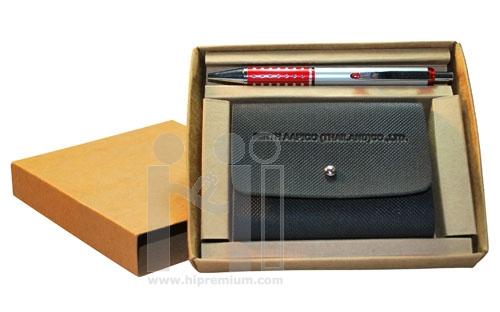 ชุดกล่องของขวัญกิ๊ฟเซ็ท Gift Set<br>กล่องนามบัตร&ปากกา