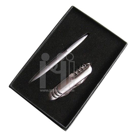 ชุดกล่องของขวัญกิ๊ฟเซ็ท Gift Set<br>มีดอเนกประสงค์,ปากกา