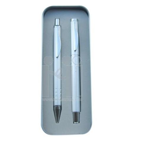 ***ชุดกล่องปากกาโลหะ2ด้าม(ปากกาลูกลื่น,ปากกาหมึกซึม)