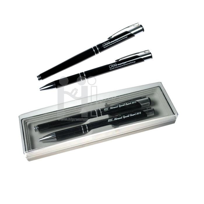 ชุดเซ็ตปากกาลูกลื่นและปากกาหมึกซึม