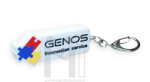 แฟลชไดร์ฟโลโก้ Genos หรือทรงอื่นๆตามสั่ง (แฟลชไดรฟ์สั่งทำ)