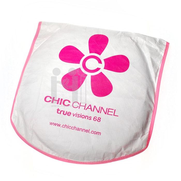 ม่านบังแดดด้านหน้า ผ้าไทเวคดูปองต์ CHIC CHANNEL