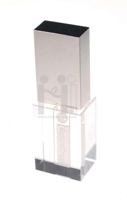 3D crystal USB flash drive ThyssenKrupp Elevator (Thailand) Co.,Ltd.