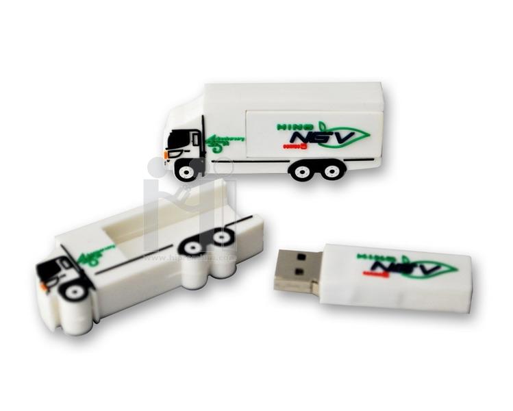 HINO NGV Flash Drive หรือทรงอื่นๆตามสั่ง(แฟลชไดรฟ์สั่งทำ)