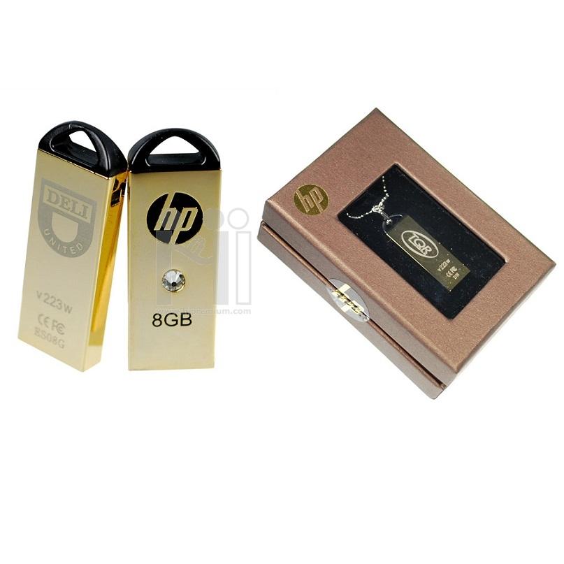 Flash Drive HP v223w <br>ประดับSwarovski crystal พร้อมกล่องของขวัญ