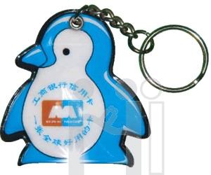 พวงกุญแจไฟฉาย รูปนกเพนกวิน<br>สั่งทำแบบใหม่ตามต้องการ