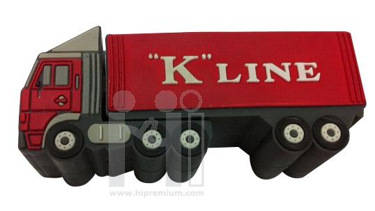 K Line Flash Drive แฟลชไดร์ฟรถบรรทุก หรือทรงอื่นๆตามสั่ง(แฟลชไดรฟ์สั่งทำ)