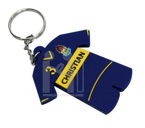 พวงกุญแจยางหยอดประกบ2หน้า พวงกุญแจ PVC สั่งทำตามแบบ