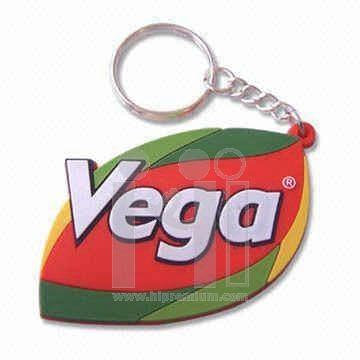 พวงกุญแจยางหยอด ห่วงโซ่ธรรมดา <br>พวงกุญแจ PVC สั่งทำตามแบบ