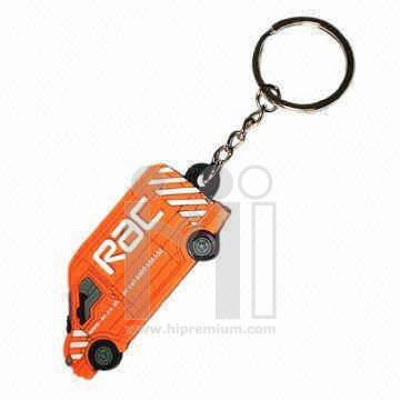 พวงกุญแจยางหยอด ห่วงโซ่ธรรมดา พวงกุญแจพีวีซีสั่งทำตามแบบ