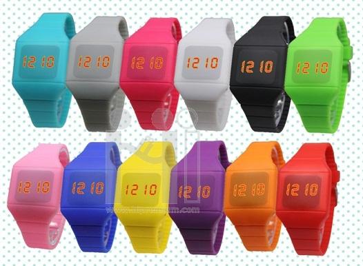 นาฬิกาข้อมือเด็ก นาฬิกาสายซิลิโคน