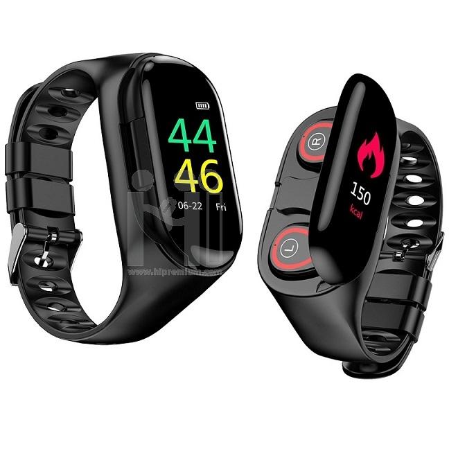 Smart Watch สมาร์ทวอทช์นาฬิกาหูฟังบลูทูธ