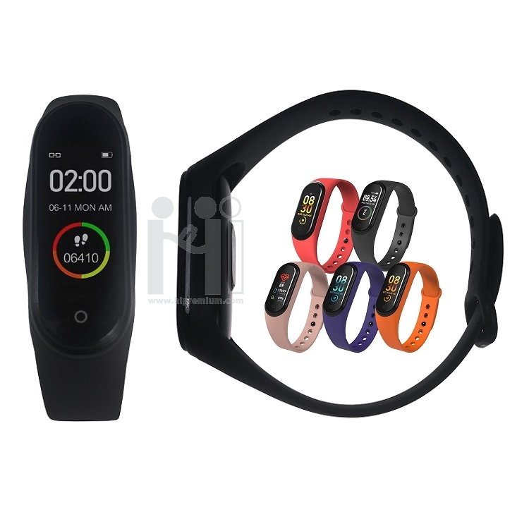 นาฬิกาข้อมือเพื่อสุขภาพราคาถูก นาฬิกาออกกําลังกาย นาฬิกานับแคลอรี่ สต๊อก