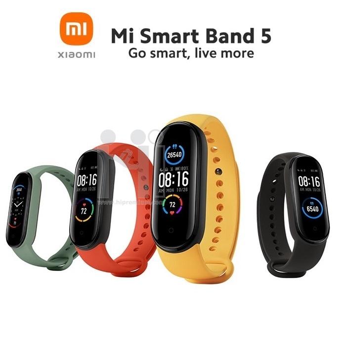 นาฬิกาข้อมือเพื่อสุขภาพ Xiaomi Mi Smart Band 5