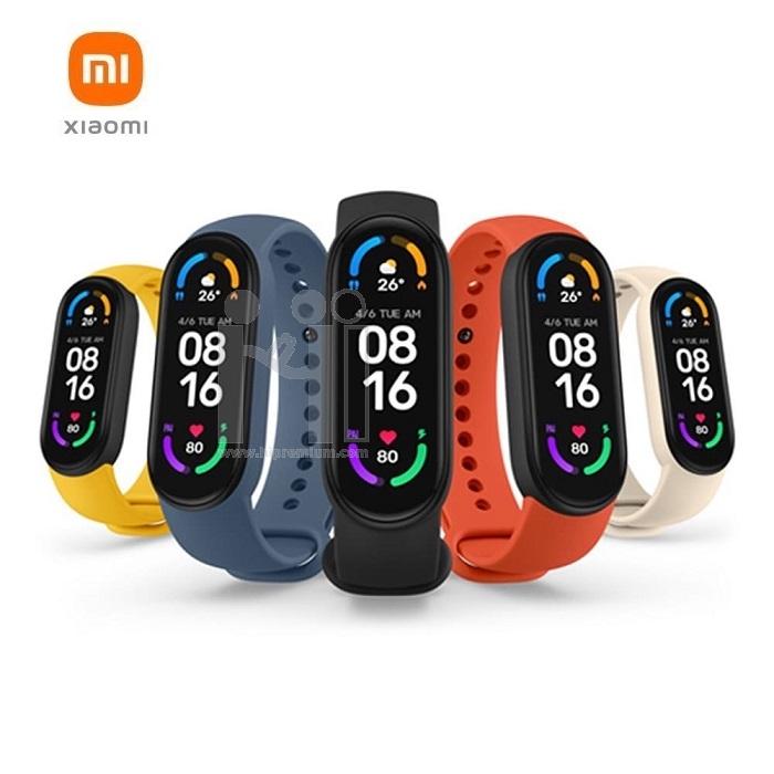 นาฬิกาข้อมือเพื่อสุขภาพ Xiaomi Mi Smart Band 6
