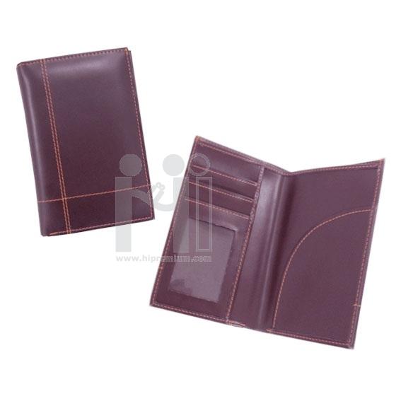 สมุดใส่พาสปอร์ต ซองหนังเทียมใส่พาสปอร์ต ซองหนังใส่ Passport