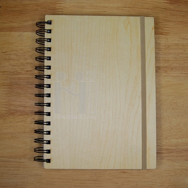 สมุดโน๊ตปกไม้  สมุดโน้ต สมุดปกไม้