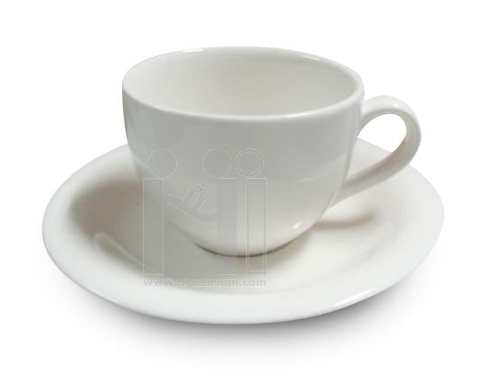 แก้วมักพร้อมจานรองแก้ว ชุดแก้วกาแฟเซรามิกมัคขั้นต่ำ200ชุด