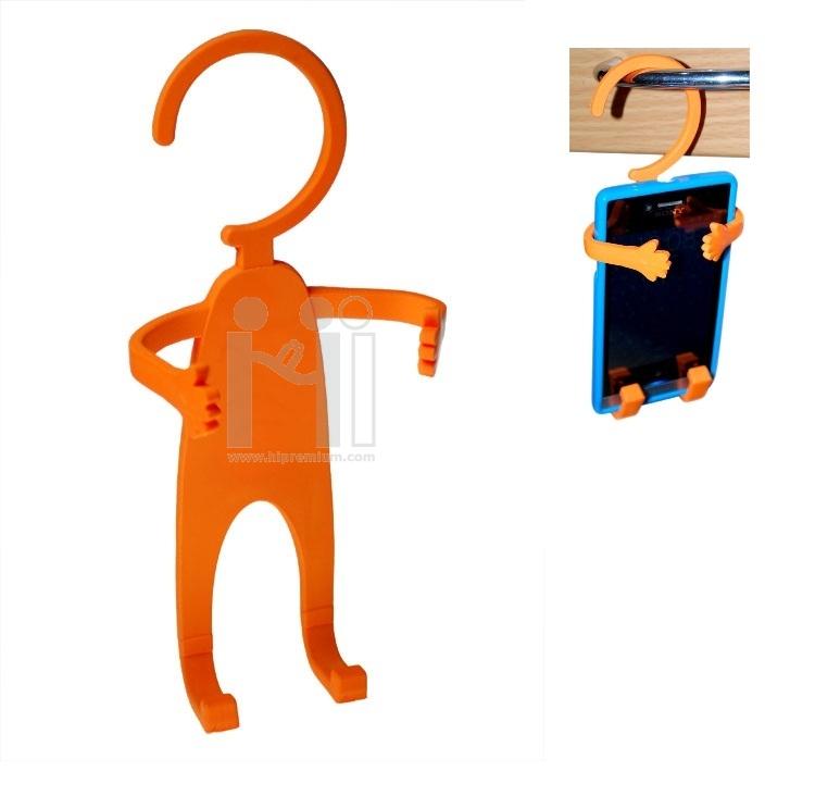 ที่วางมือถือแบบดัดโค้งงอได้ <br>ที่แขวนมือถือยางหยอดขึ้นรูปตามสั่ง