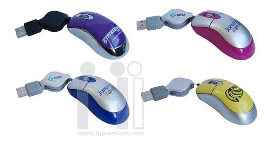 มินิเมาส์<br> USB Mini Optical Mouse