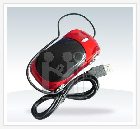 เมาส์แฟนซีรูปทรงรถยนต์<br>USB Optical Mouse