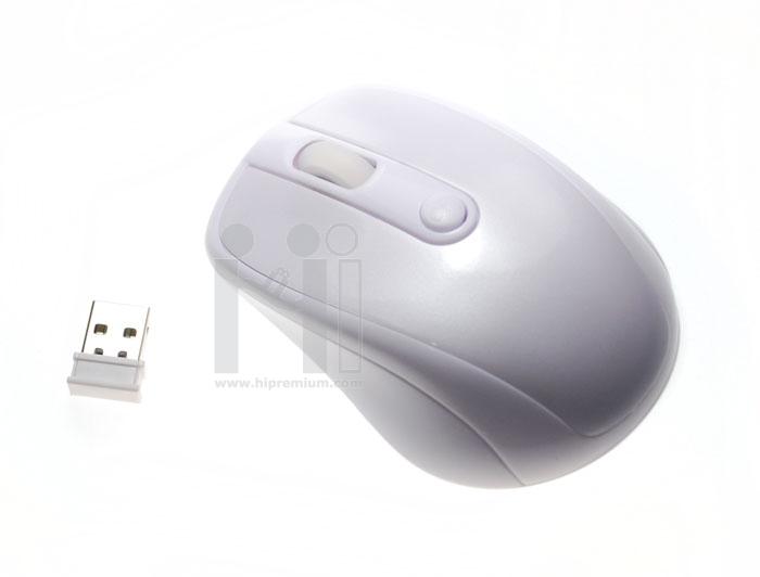 เมาส์ไร้สาย 2.4Ghz USB Wireless Mouse