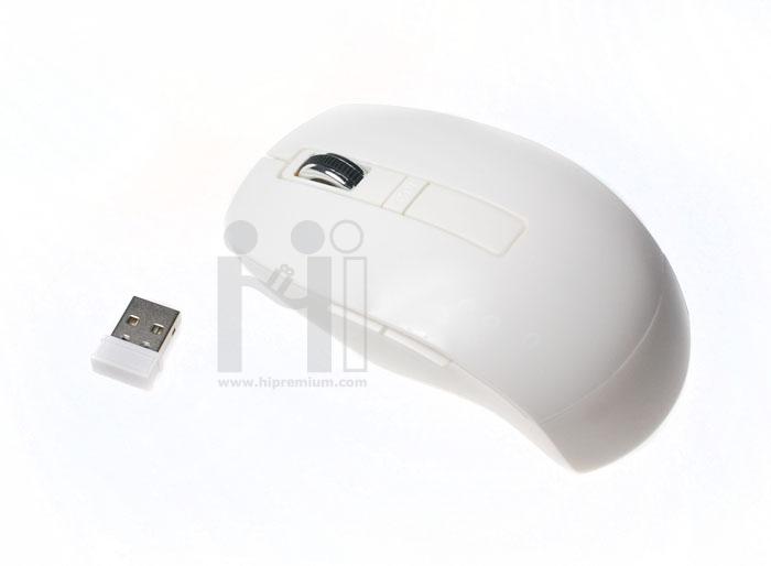เมาส์ไร้สายสั่งขั้นต่ำ100ชิ้น<br>2.4Ghz USB Wireless Mouse