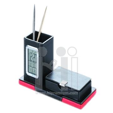 นาฬิกาตั้งโต๊ะ&อุณหภูมิ&ปฏิทิน&ใส่นามบัตร