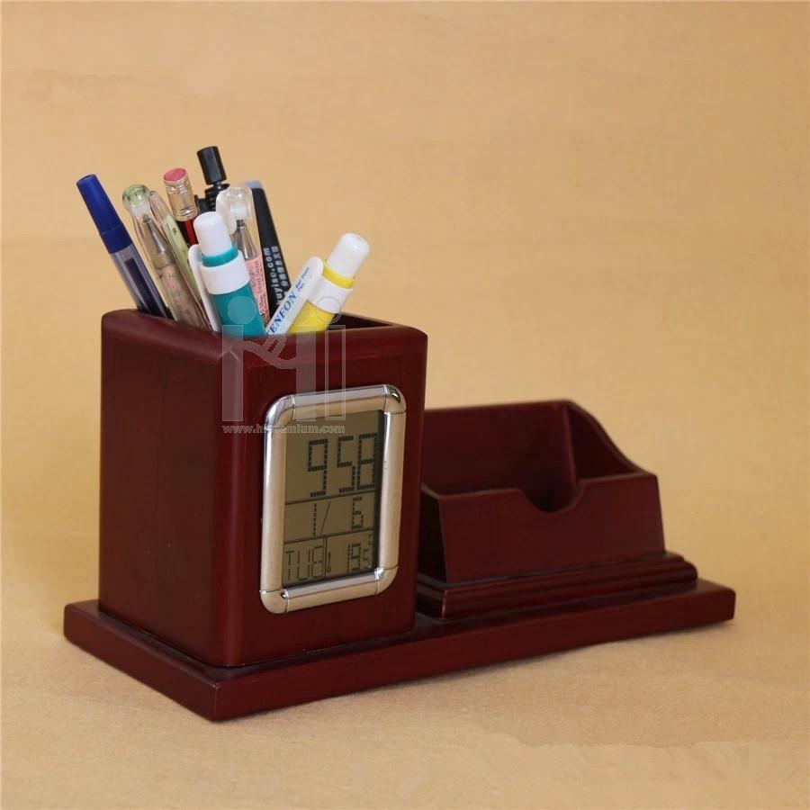 นาฬิกาไม้ นาฬิกาตั้งโต๊ะ