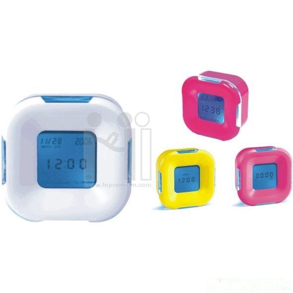 นาฬิกาตั้งโต๊ะ พรีเมี่ยม มีแสงไฟ มีสต๊อกพร้อมส่ง