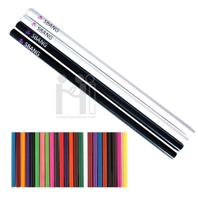 ดินสอไม้ผลิตใหม่เลือกทรงและสีด้ามได้