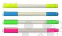 ปากกาไฮไลท์2หัว ปากกาเน้นข้อความ <br>ขั้นต่ำ1,000ด้าม
