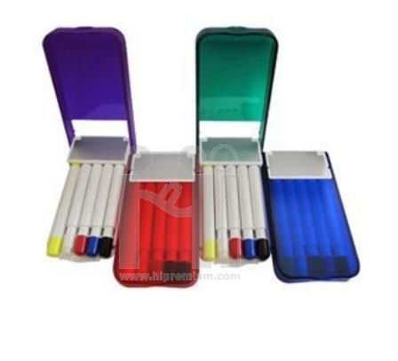 ***กล่องชุดเซ็ตปากกาไฮไลท์5ด้าม ปากกาเน้นข้อความ5สีสั่งขั้นต่ำ100ชุด