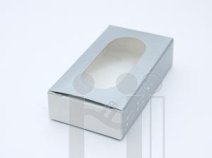 กล่องใส่แฟลชไดร์ฟ กล่องกระดาษเงิน