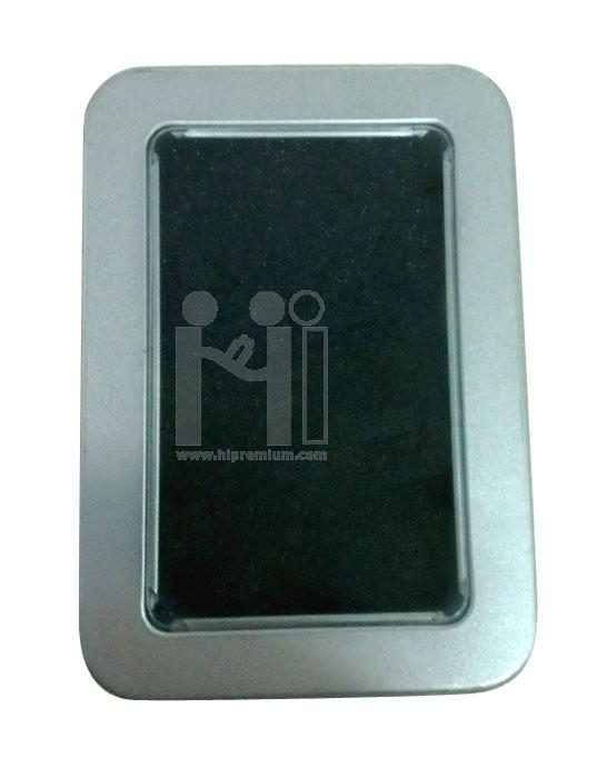 กล่องเหล็กใส่แฟลชไดร์ฟ กล่องโลหะทรงเหลี่ยมใหญ่